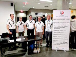 DebConf17 Job Fair Gruppenfoto
