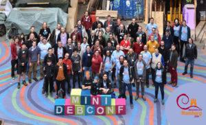MiniDebConf 2018 Gruppenfoto