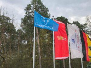 PGConfDE 2018 Flagge